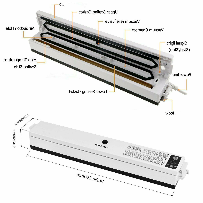 Compact Vacuum Sealer Food Sealers - Maquina Selladores
