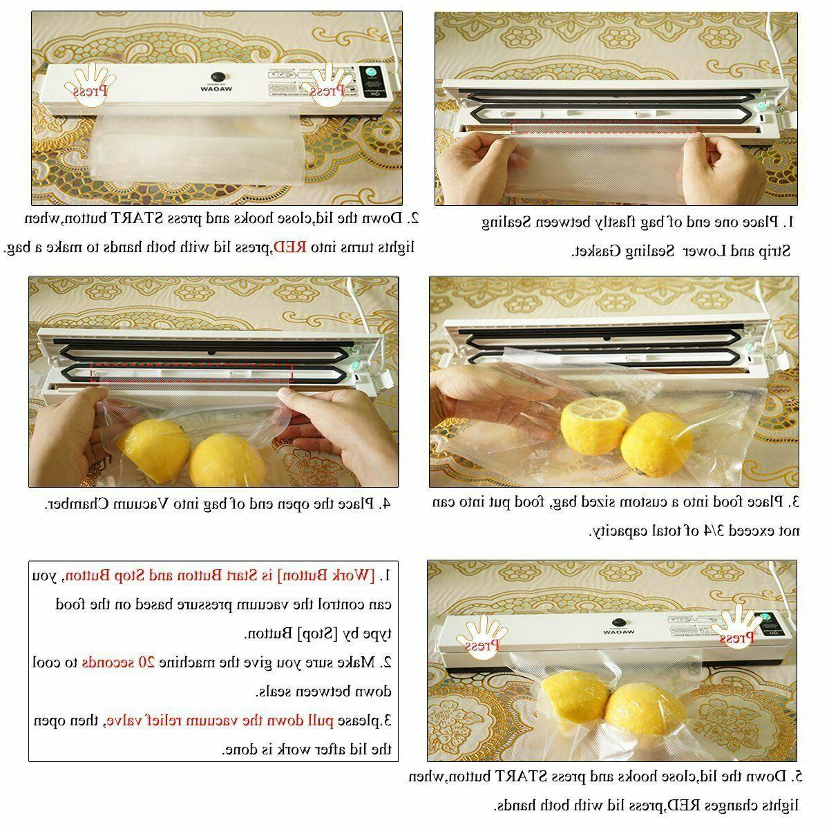 Compact Sealer Food - Maquina Selladores De