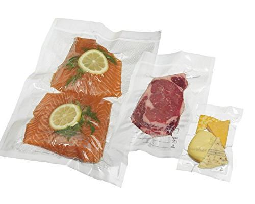 Hamilton Commercial HVBX1100 NutriFresh Sealer Bags, 8 12, Mil,