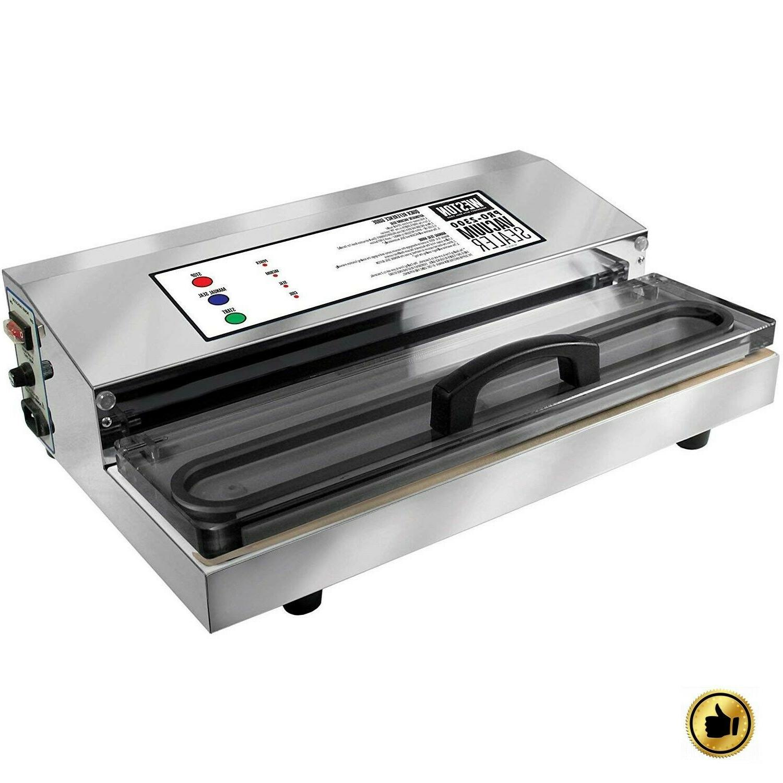 Commercial Vacuum Sealer Machine Food Saver Storage Space Pu