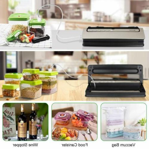 New Food Sealer Machine Meal Sealing 80Kpa