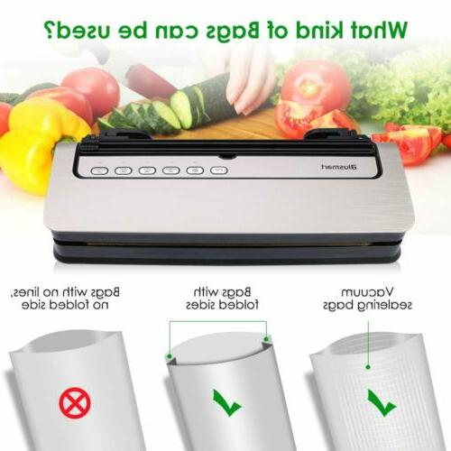 New Food Saver Sealer Meal 80Kpa