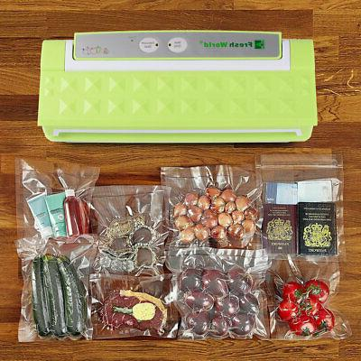 Commercial Food Saver Vacuum Sealer Machine +Bag Sealing Sys