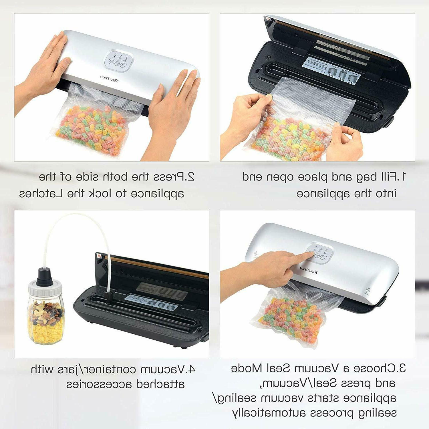 Commercial Vacuum Machine Seal a Meal Food Saver with free bags