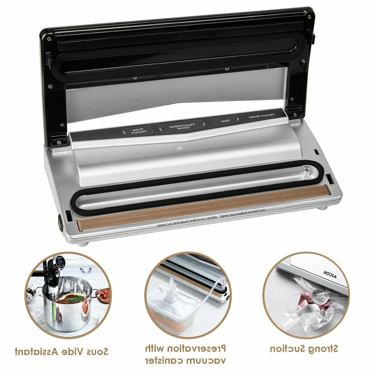 Commercial Vacuum Sealer Seal a Meal Food Saver System bags