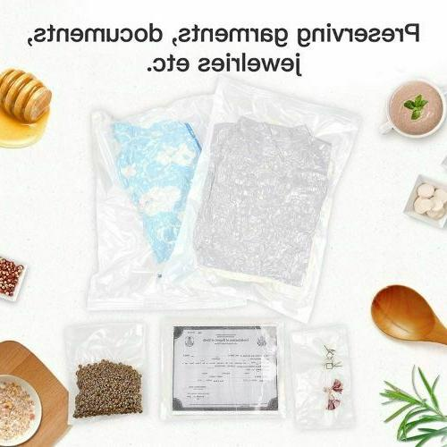 Commercial Vacuum Seal Meal Food Saver bags