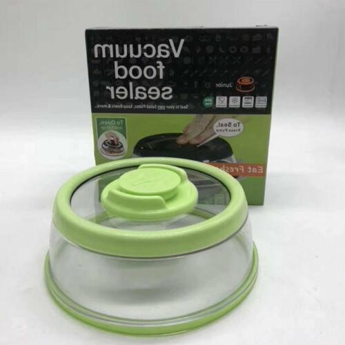 Dome Mintiml Food Sealer Platter Container Press Sealing 3 Colors