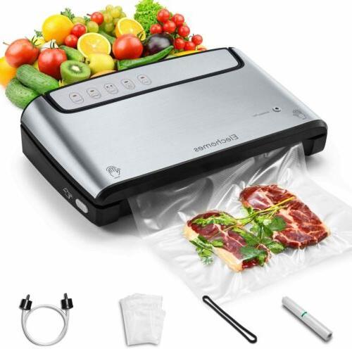 elechomes vacuum sealer pro food electric vacuum