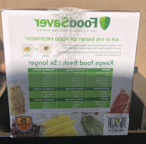FoodSaver 5200 Series Vacuum and Kit