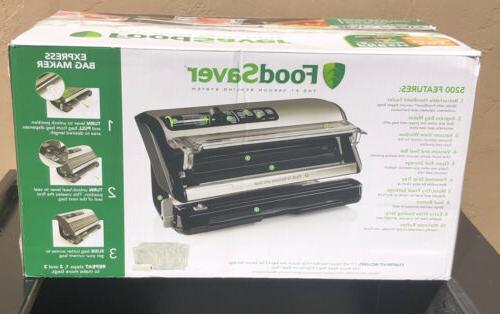 FoodSaver 5200 Vacuum System Sealer and Starter NIB