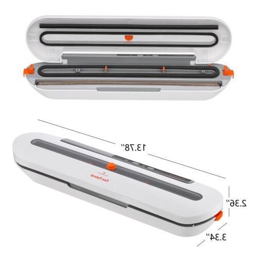 Food Storage Vacuum Sealer Machine Family Sized 10Pcs Sous Vide Bag