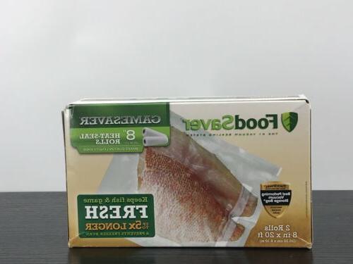 food saver 8 rolls long