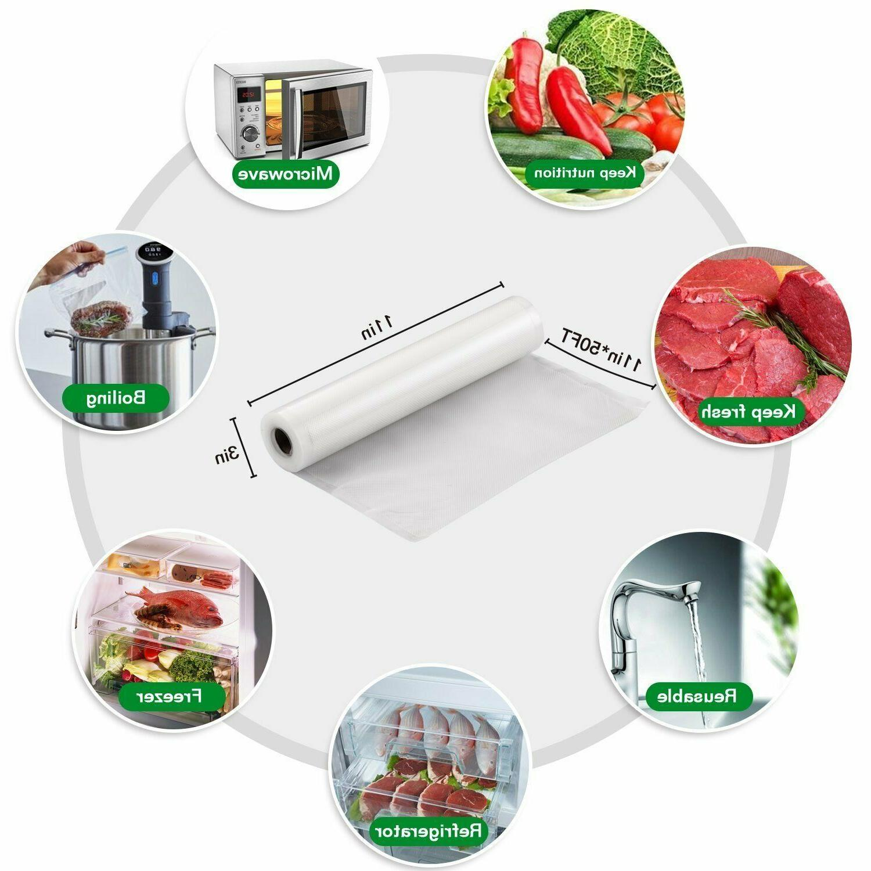 Food Saver Meal Vacuum Sealer Storage Machine Bags Food Saver