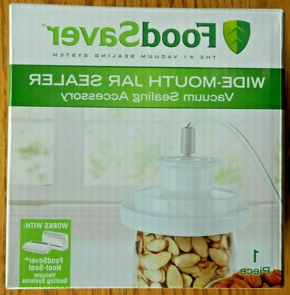 food saver vacuum jar sealer wide mouth