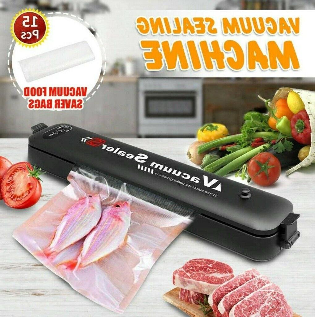 Food Vacuum Sealer Machine A Foodsaver w/15 Bags