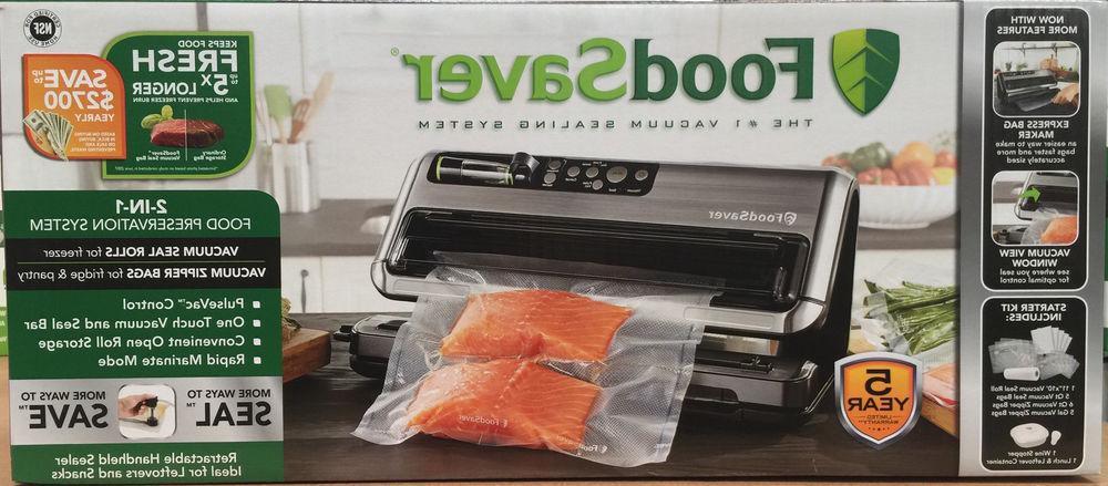 Food Foodsaver Seal Sealing System Machine FM5480 New