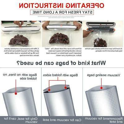 Food Vacuum Packaging Machine With