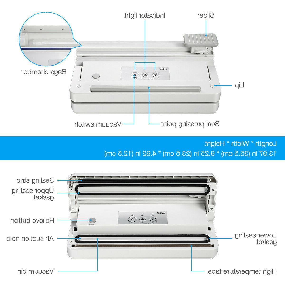 Commercial Food Vacuum Sealer Machine + Vacuum Storage Bag