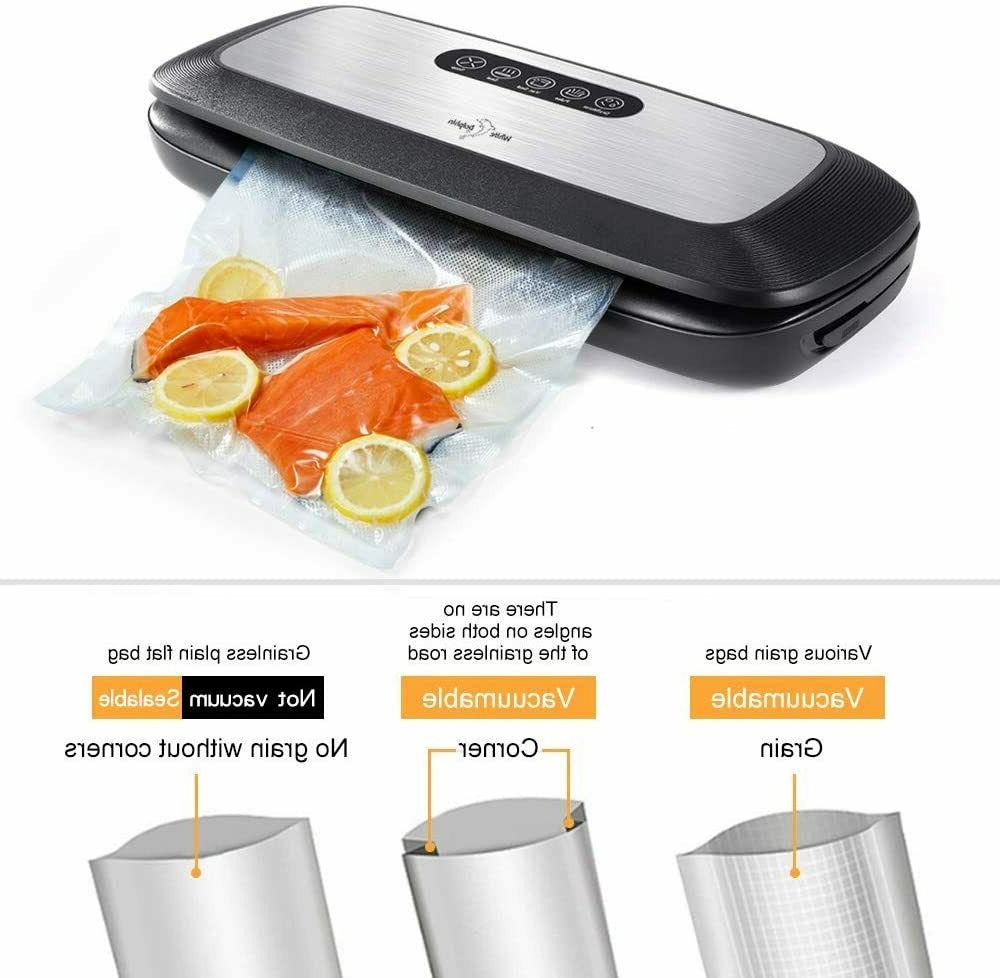 Food Vacuum White Machine, &