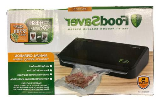 foodsaver fm2100 vacuum sealing system new bag saving techno