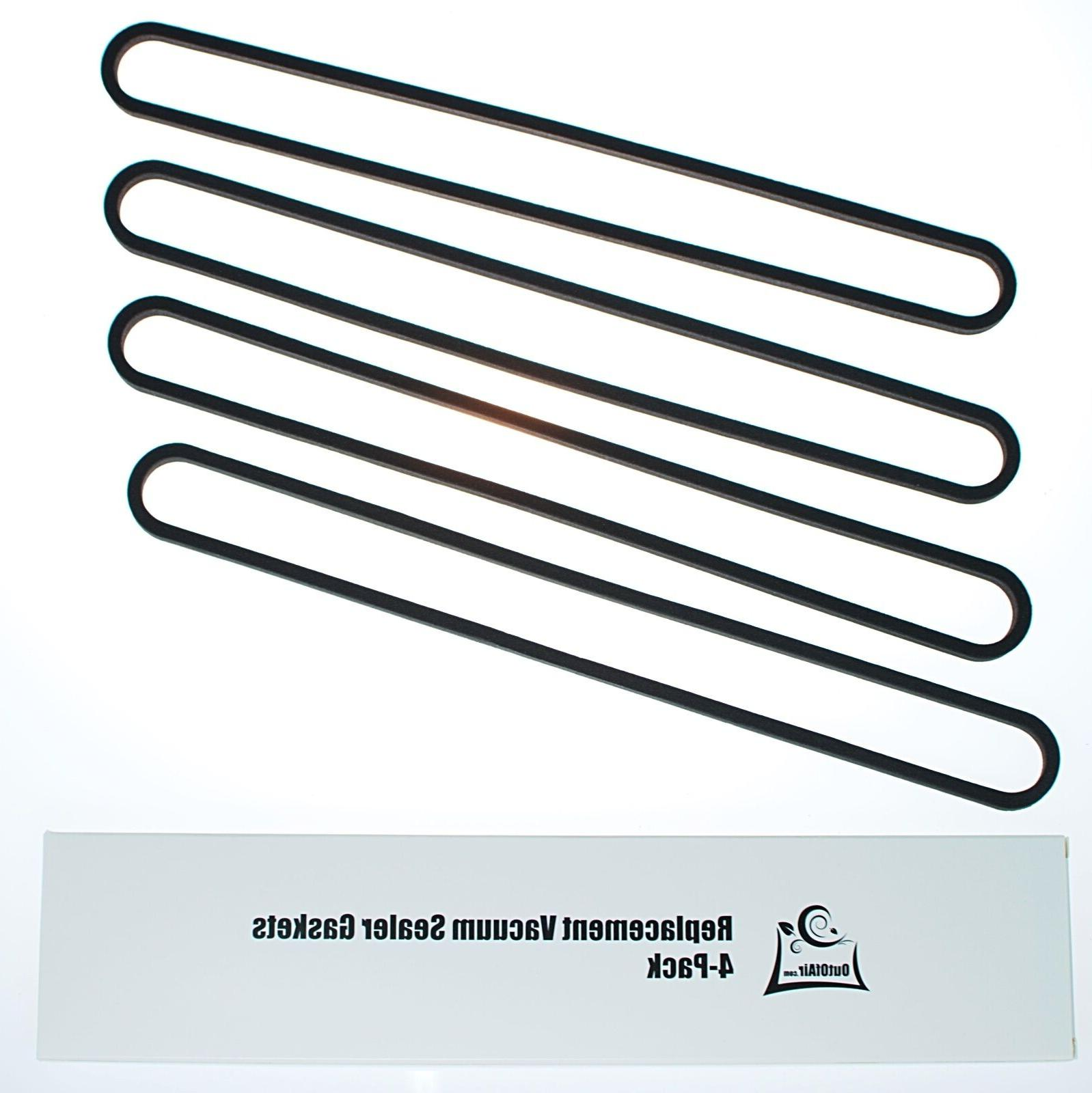 FoodSaver & Lower Gasket Assembly Replacements - 4