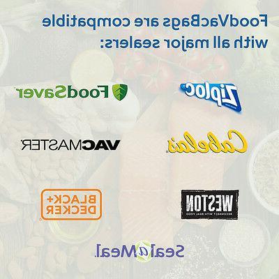 300 6x10 Pint Vacuum Bags FoodSaver