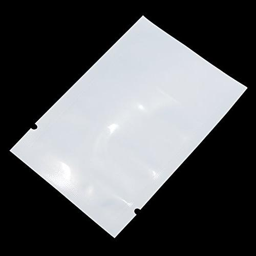 Front Sealable Sealer Smell Bags Tear Notches Safety Grocery Bulk Food Candy