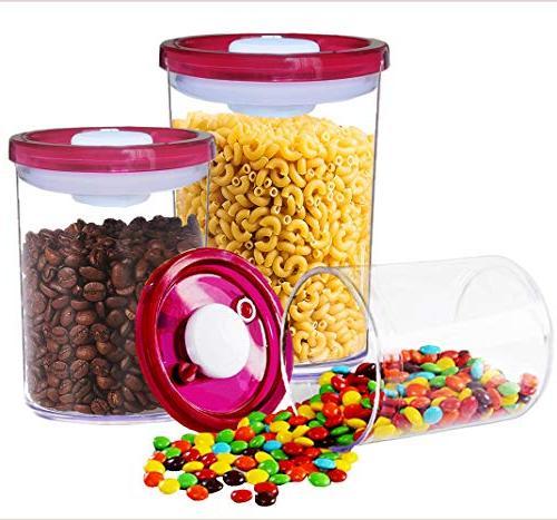 g double airtight food storage