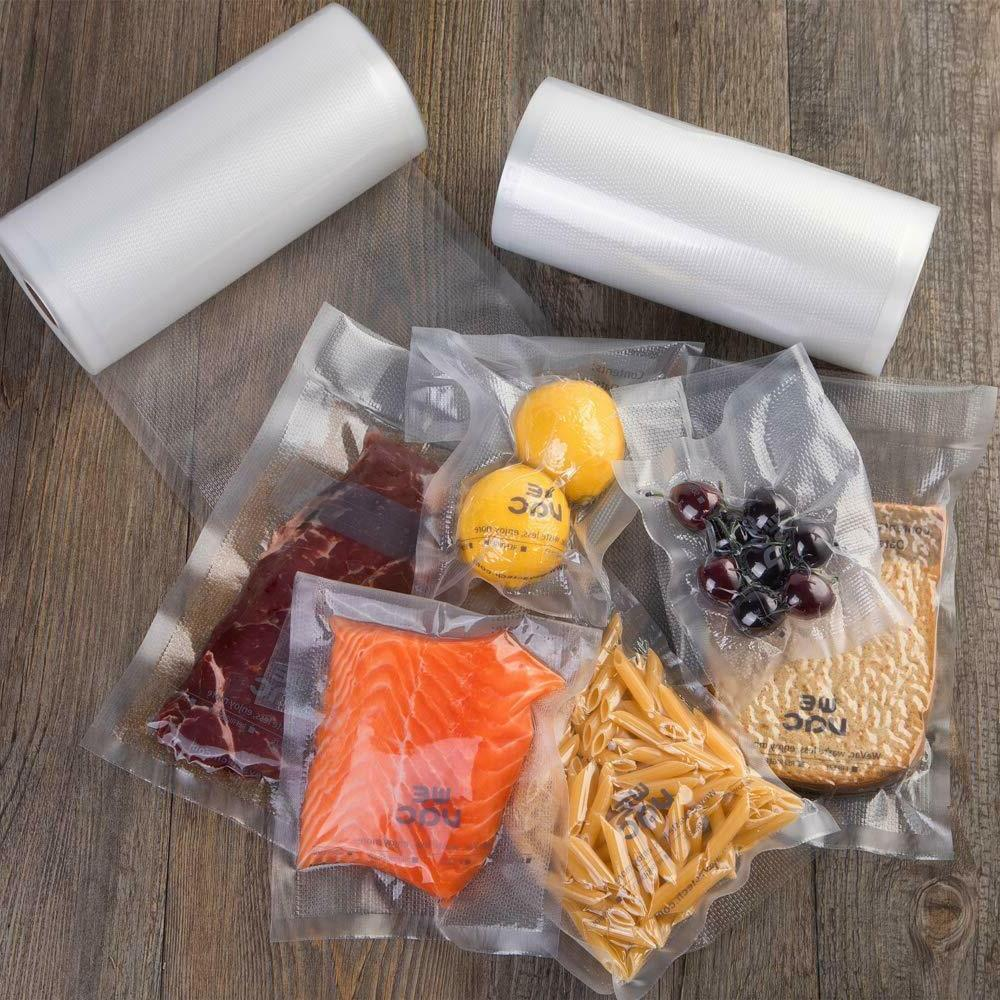 Kitchen Vacuum Sealer Bags 8x50 Pack for Food Saver, Seal a