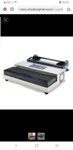 LEM MaxVac 500 Vacuum Sealer with Bag Holder & Cutter