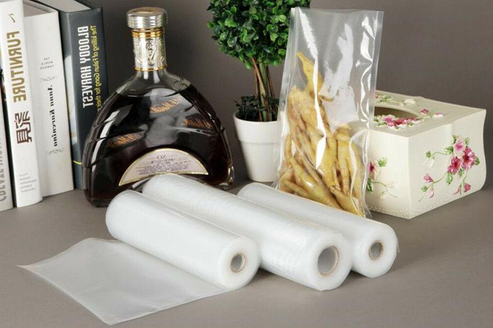 multi size vacuum food storage sealer bags