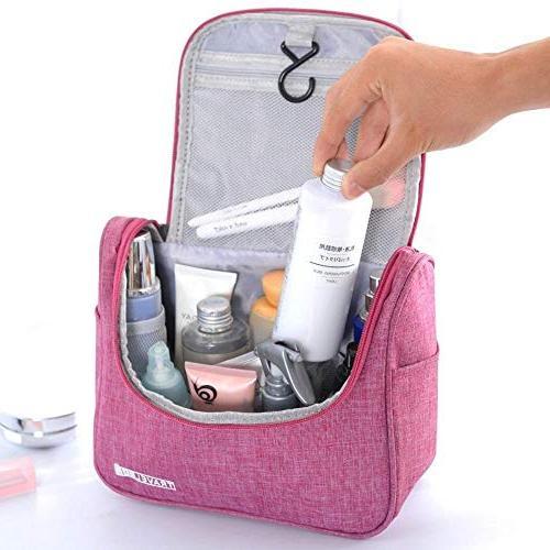 Hakazhi Folding Storage Wall Mounted Cosmetic Bag Makeup Organizer Sundries