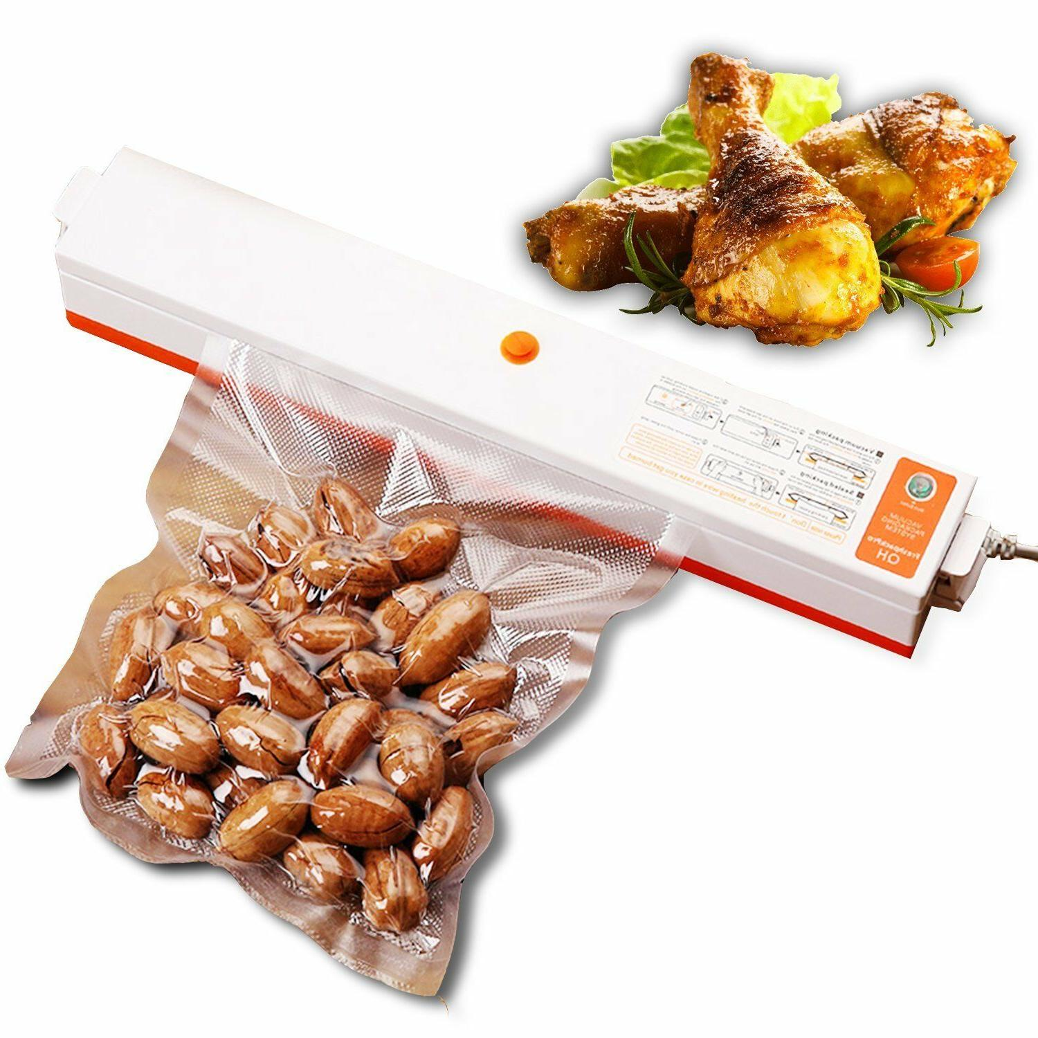 New Automatic Sealer Food Saver + Bags