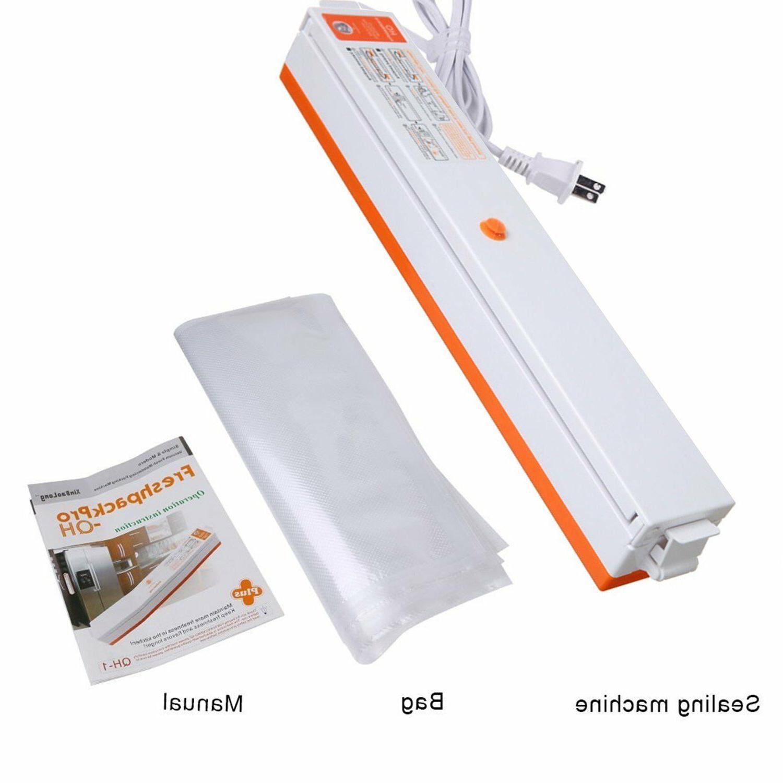 New Vacuum Food Size + Sealer Bags