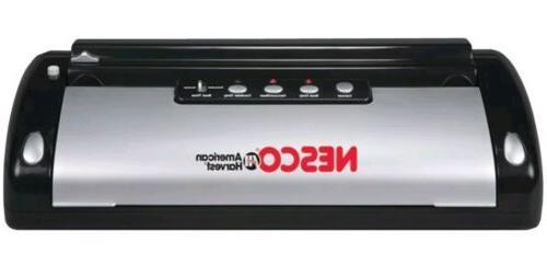 New Nesco VS-02 Food Vacuum Sealer, Eliminate freezer burn