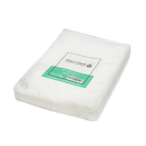 nutri lock vacuum sealer bags 100 quart