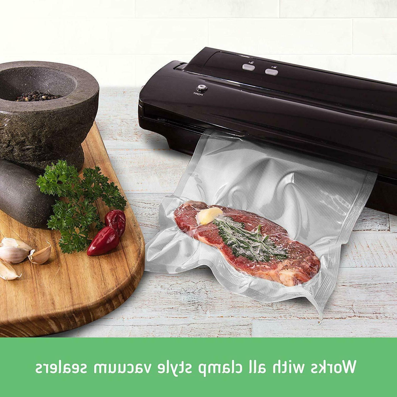 Nutri-Lock Vacuum Sealer 2-Sizes Grade Rolls For FoodSaver Nesco