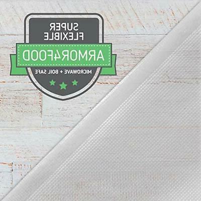 Nutri-Lock Sealer Bags. 2 Rolls 8x50. Commercial Grade ...