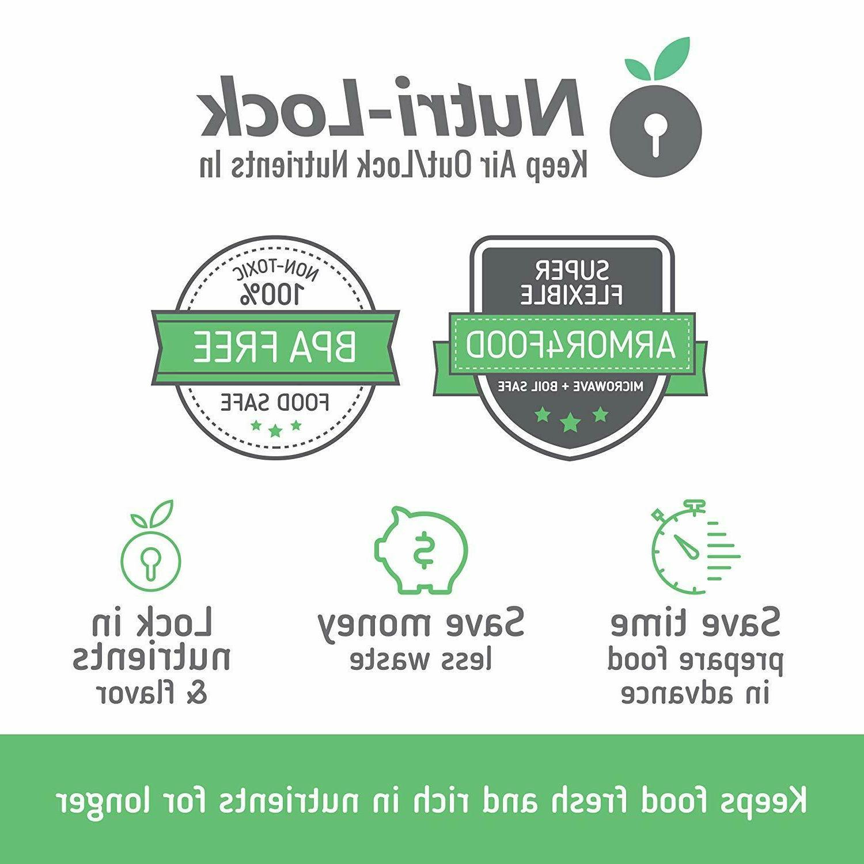 Nutri-Lock Vacuum 2-Sizes For FoodSaver Nesco