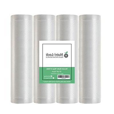 nutri lock vacuum sealer bags 4 rolls
