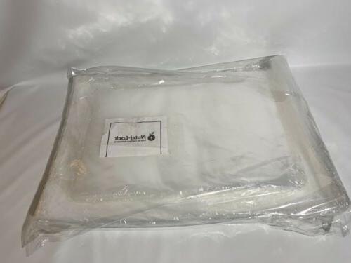 "Nutri-Lock Vacuum Sealer 50 Bags & 12x8"""