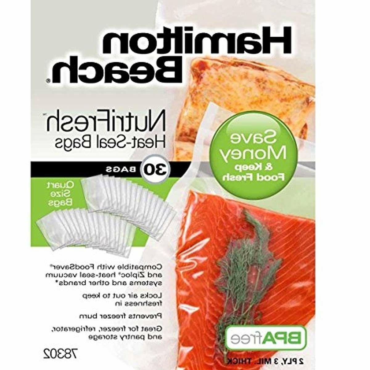 nutrifresh heat vacuum sealer 30 quart bags