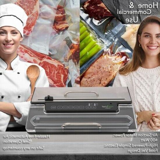 NutriChef Pro Food Vacuum Seal Preserver,
