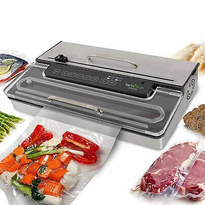 pkvs50sts pro food vacuum sealer electric air