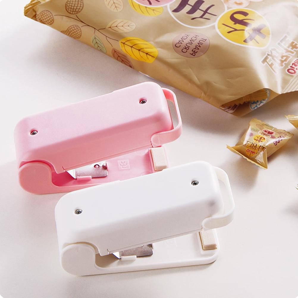 Portable Mini-sealing Food Plastic Sealing Clips <font><b>Organization</b></font> 1PCS Food <font><b>Sealer</b></font>