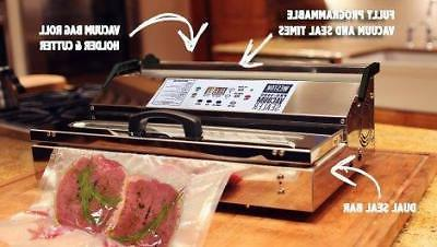 Weston Commercial Vacuum Sealer, Stainless