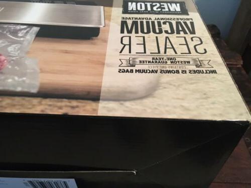 professional advantage 120v 210w vacuum sealer 65
