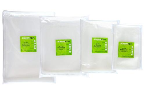 "Quart PLUS Vacuum Sealer Bags. 100 SIZE 10"" 13"" for Food Saver A"
