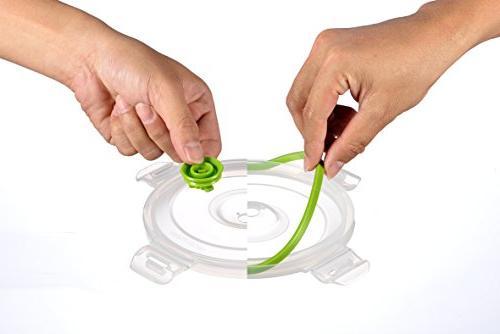 Lasting Seal Food Deep Freezer Food Sealer - Food System Quick - Color