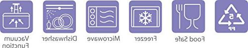Lasting Freshness Vacuum Seal Food Storage - Deep Freezer Food - Food Seal - - 19Pc - Color